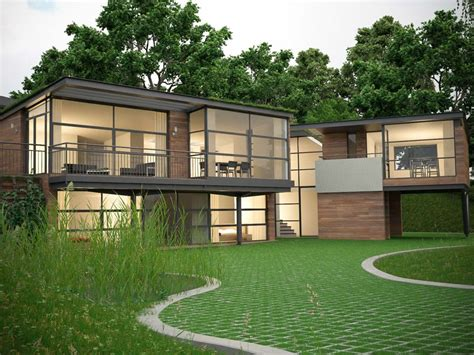 eco house designs eco house denbigh north wales