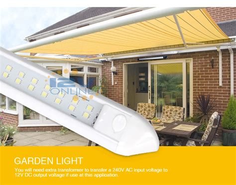 rv awning lights exterior 12volt 21 65 quot led awning porch light rv coach caravan