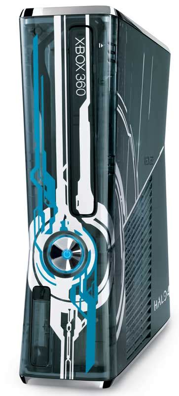 halo 4 360 console xbox360 halo4 limited edition console front angle techstyles