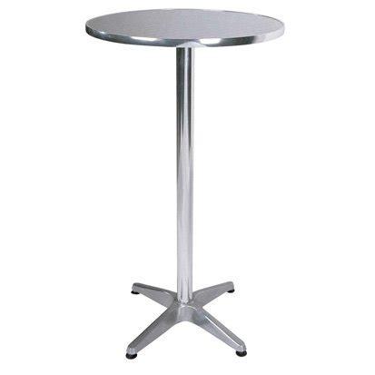 Aluminium Bistro Table Bisect Bistro Bar Table In Aluminium 2242