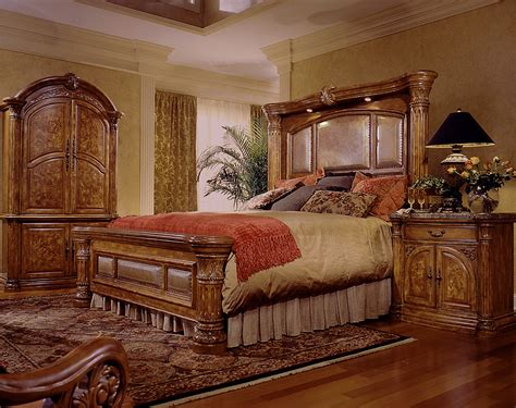 monte carlo bedroom set aico furniture monte carlo 8 piece mantel bedroom set