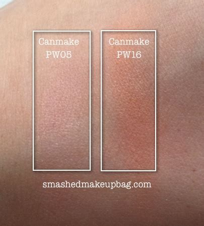 Canmake Highlighter 05 canmake powder cheek in pw16 review plus highlighter