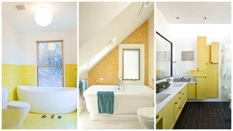 25 cool yellow bathroom design ideas freshnist top 28 18 cool yellow bathroom designs 25 cool yellow