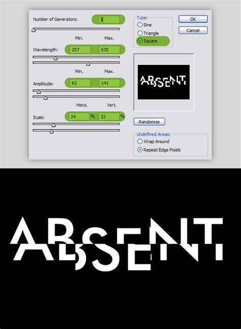 tutorial corel draw efek teks membuat teks efek wireframe abstrak dengan photoshop