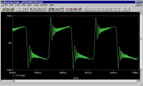 power diode pspice model pspice simulation power transformer primary current