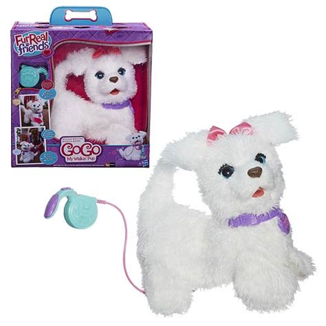 furreal walking puppy furreal friends gogo my walking pup 4 0 hasbro furreal friends plush at
