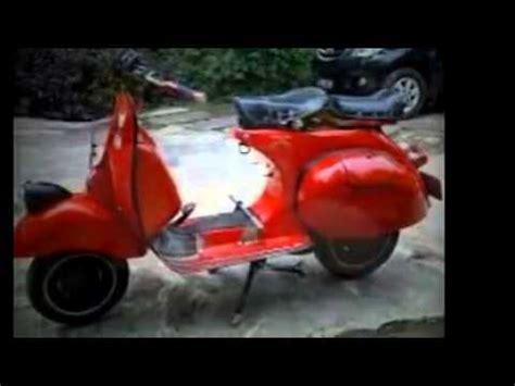 modifikasi vespa jadul modifikasi motor jadul vespa klasik
