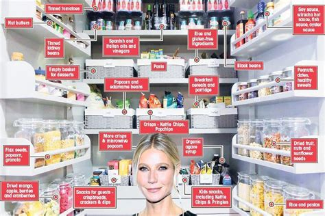 gwyneth paltrow pantry she eats crisps and pasta too take a look inside health