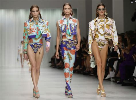 Donatella Versace To Design The Next Spice Tour Wardrobes by Chanelling Gianni Donatella Versace Goes All Out In
