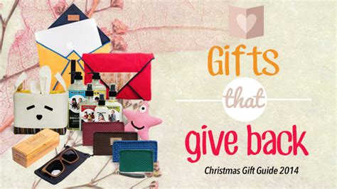 christmas gift ideas 2014 13 gifts that give back