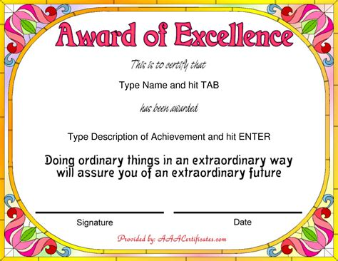templates for school certificates image gallery sle certificates