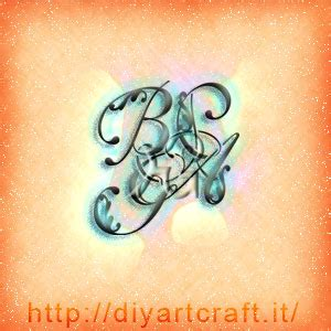 lettere intrecciate 12 idee stemma astratto 4 lettere intrecciate