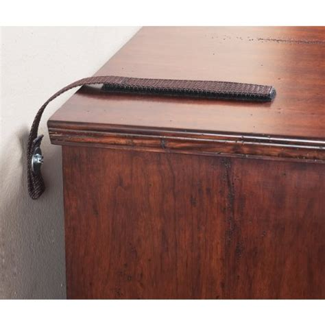 15 Inch Dresser by Quakehold 4162 15 Inch Furniture Kit Antique Brown