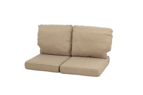 loveseat replacement cushions ty pennington style parkside replacement loveseat cushion