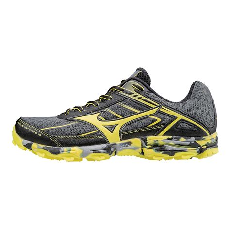 trail running shoes on road mens mizuno wave hayate 3 trail running shoe at road