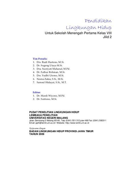 Ac 1 2 Pk Di Hartono Elektronik Malang buku sekolah elektronik bse plh smp kelas viii 2009
