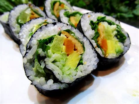 Veggie Roll which types of sushi you should order if you re allergic to shellfish