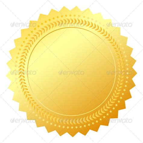certificate seal template 36 blank certificate template free psd vector eps ai