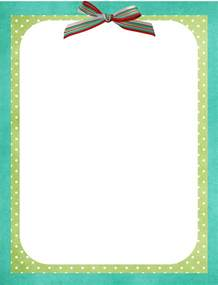 Page Border Templates by 1000 Images About Stationary Printable Preschool On