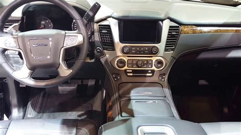 gmc yukon interior 2016 2016 gmc yukon denali interior 2016 chicago auto