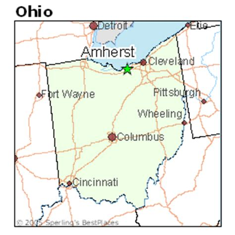 houses for rent amherst ohio best places to live in amherst ohio