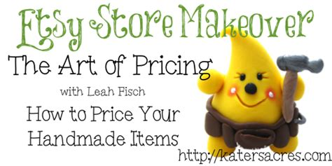 How To Price Your Handmade Items - learn the of pricing handmade items for retail sale in