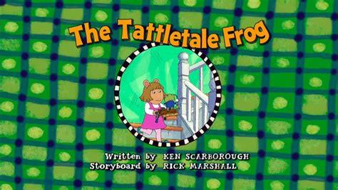 arthur title cards season 11 the tattletale frog arthur wiki
