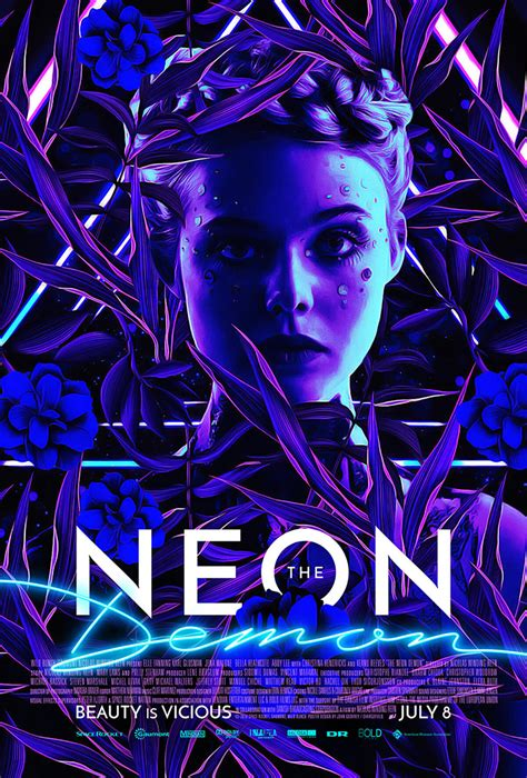 the neon demon new posters the neon demon by john godfrey home of the alternative