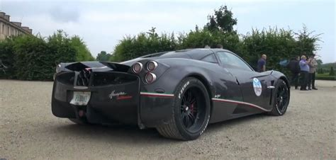 pagani exhaust only pagani huayra in the world fitted with a titanium