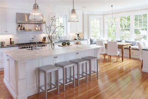 Small Open Kitchen Ideas awesome modern white kitchens wooden floor cabinets design