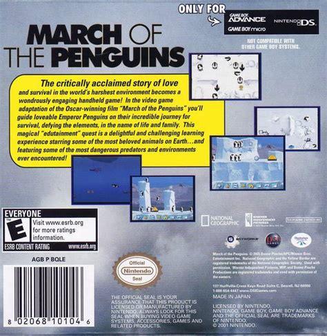 Kaset Gameboy Advance March Of The Penguins march of the penguins box for boy advance gamefaqs