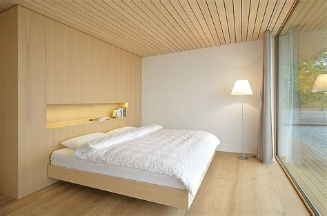 stunning mountain views   wood clad interior shape