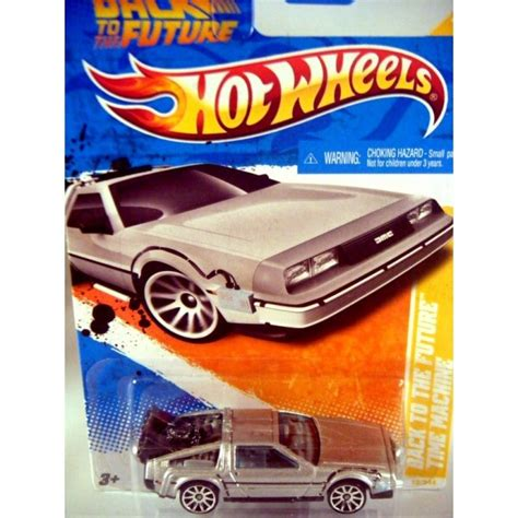 Hotwheels Delorean Dmc 12 wheels back to the future delorean dmc 12 global