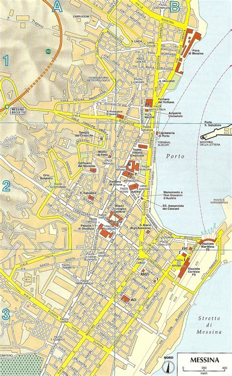 messina map map of messina