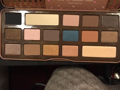 faced sweet palette po faced semi sweet chocolate bar palet beautytalk