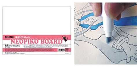 deleter shop deleter shop neopiko board a4 size 210x297mm 1 sheet
