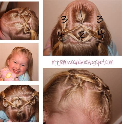 little girl hairstyles easy to do easy little girl hairstyle kiddies