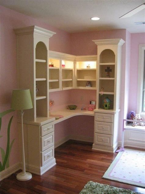 how to build a child s desk built in desk bookcase designed for a child s bedroom with