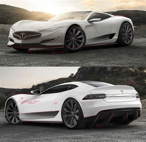 tesla model r 2016 tesla model r hypercar concept design sketches carwow