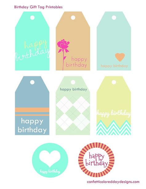 free gift tags 8 printable designs 1459 best birthday clipart images on birthdays