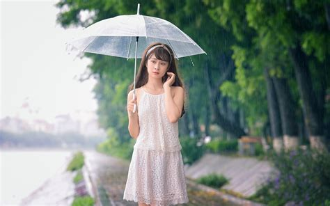 wallpaper hd umbrella girl beauty umbrella girl in rain wallpapers new hd wallpapers