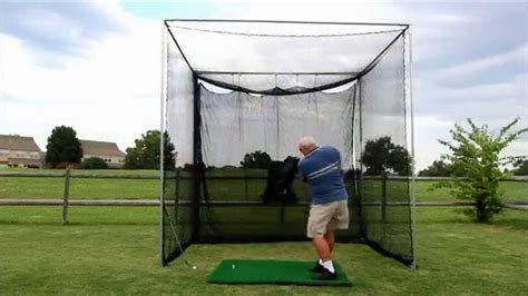 backyard golf net cimarron masters golf net youtube
