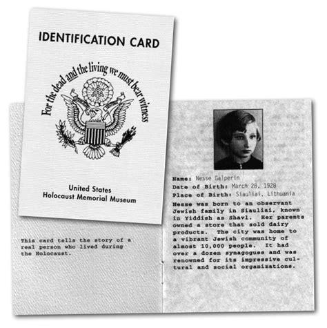 printable holocaust id cards the realist report interviews eric hunt transcript katana
