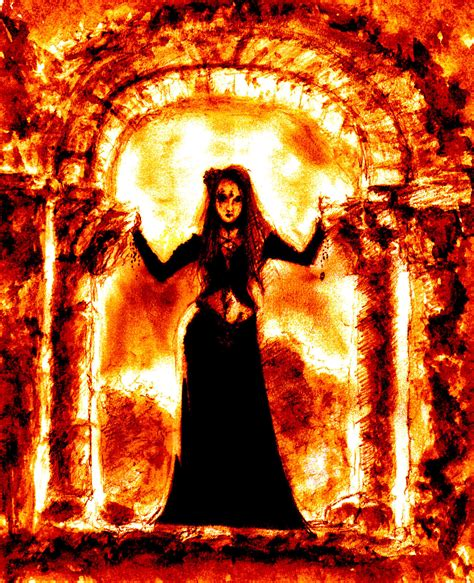 the door of hell by bluemillenium on deviantart