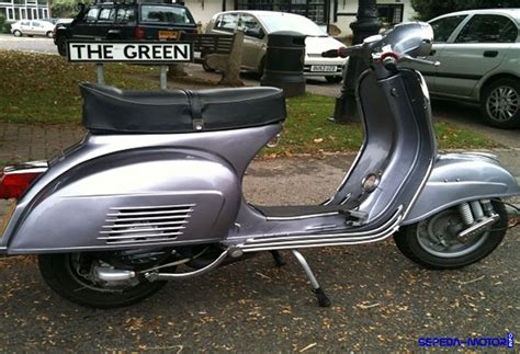 Modifikasi Vespa 1977 by Vespa Sprint Veloce 1977 Si Skuter Flower Generation