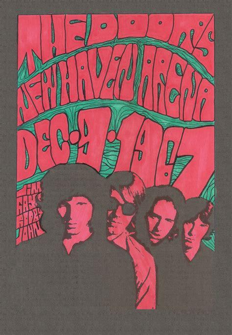 The Doors Poster doors 67 groovy concert posters