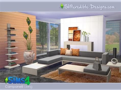 sims 4 wohnzimmer sims 4 modernes wohnzimmer sims 3 und sims 4 downloads