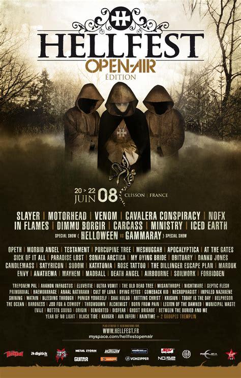agenda concerts metal hellfest 2008 20 06 2008