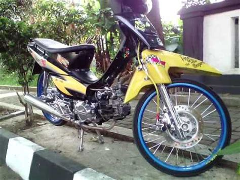 Tromol Depan Chrome Supra X 125 modifikasi supra x 100cc simple modif supra x lama 2001 chrome velg ring 17