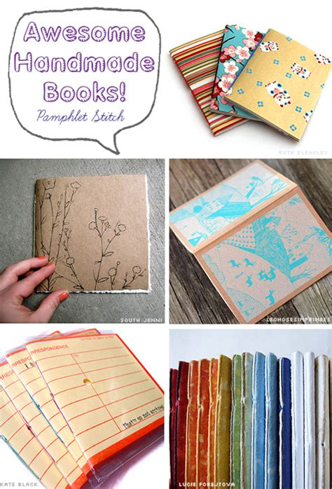 exles of picture books awesome handmade books phlet stitch bookbinding ruth